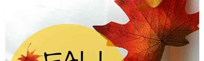 fall garland diy