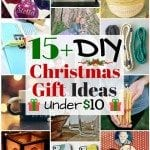 15+ DIY Christmas Gift Ideas under $10