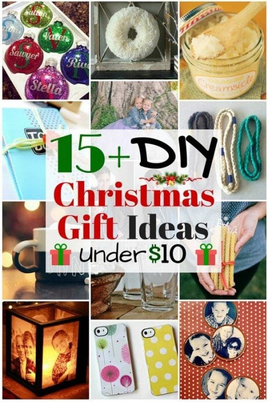 15+ DIY Christmas Gift Ideas under $10 - The Budget Diet