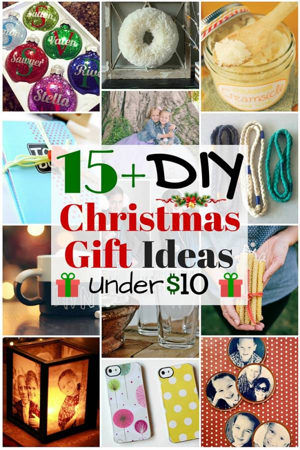 d745774c48c6 15+ DIY Christmas Gift Ideas under  10 - The Budget Diet