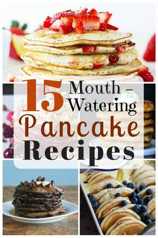 Put a yummier twist to your usual pancakes with these mouth-watering recipes. These pancakes will surely be a hit when served for your family and other house guests.
