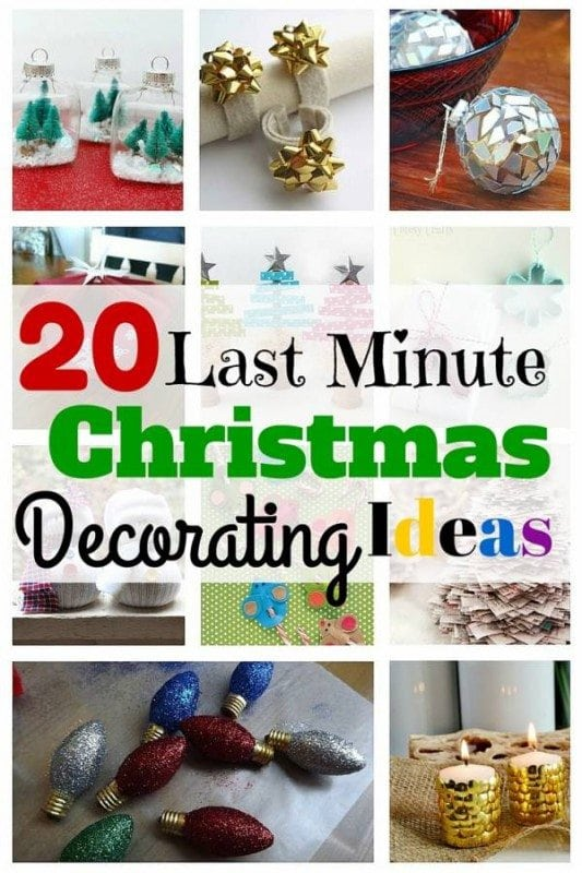 Last Minute Christmas Decorating Ideas Part - 44: Christmas Is Fast Approaching. Are Your Decors Up Yet? If Not, Here Are