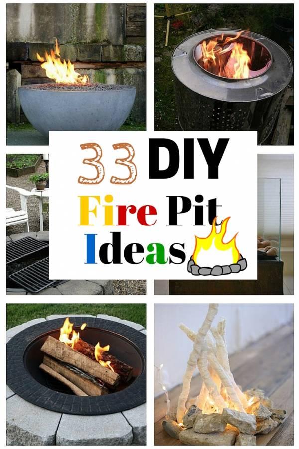 33 DIY Fire Pit Ideas - The Budget Diet