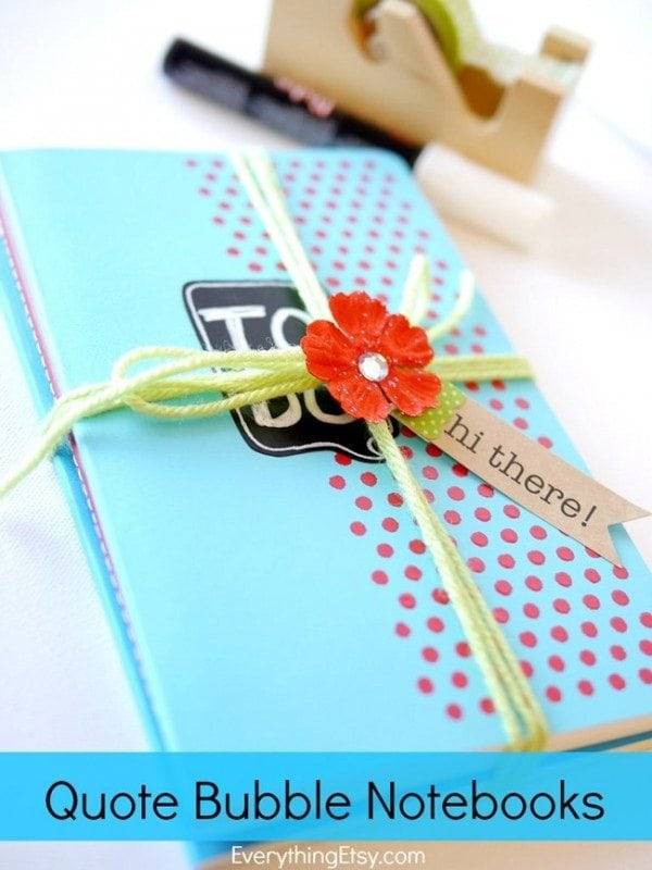 Quote Bubble Notebook