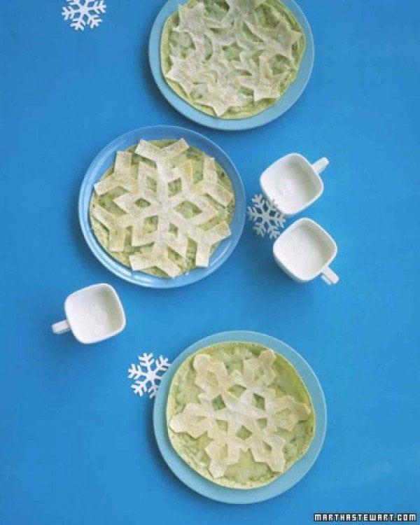 Snowflake Quesadillas