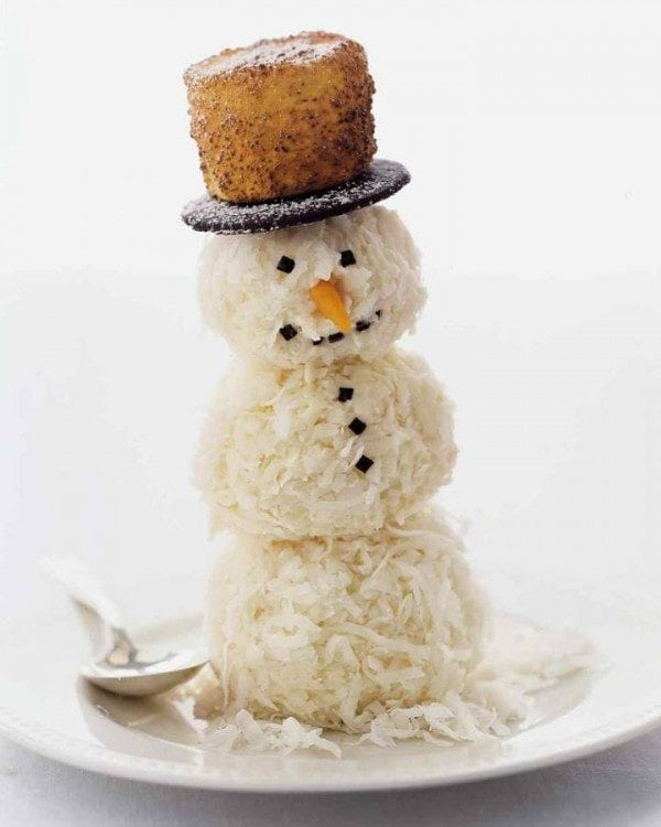 cocnut snowmen