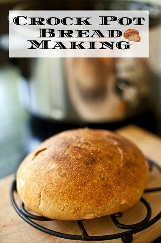 Baking bread in slow cooker? Yes it's possible. Learn how to make that warm, fresh homemade bread you really want in a way you never thought possible.
