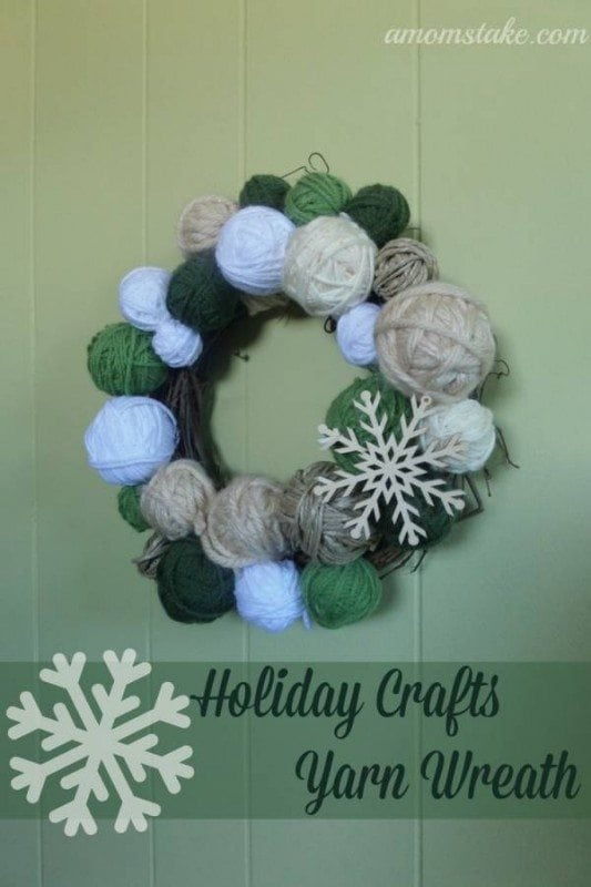 yarn-wreath