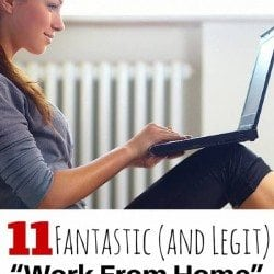 "11 Fantastic (and Legit) ""Work From Home"" Jobs You Need To Try!"
