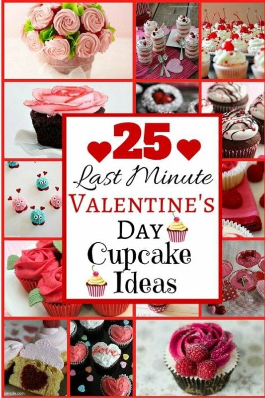 Celebrate Valentine's Day with these sweet, delicious 25 Last Minute Cupcakes Ideas. Sprinkled with love and kisses, they are remarkably lovely treat.