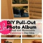 DIY Pull-out Photo Album: Sweet and Memorable Valentine's Day Idea