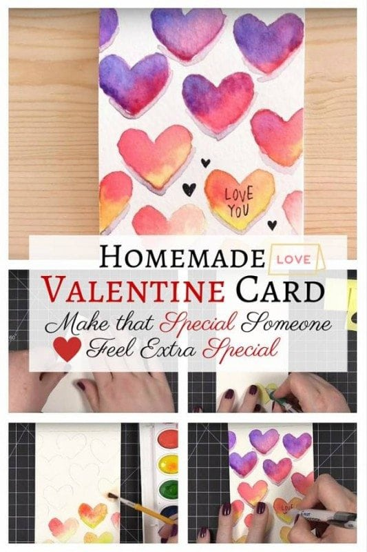Touch your beloved's heart with this DIY Valentine card. Even with limited materials, you can create a lovely gift that will definitely express your thoughts of love this Valentine's day.