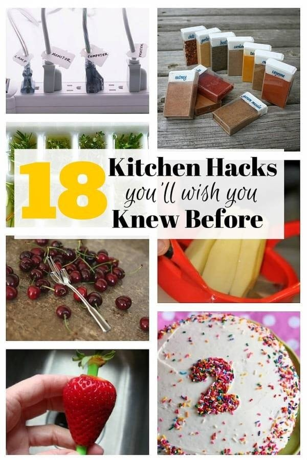 Check out these 18 kitchen hacks that will make your life easy. This article covers all your needs.
