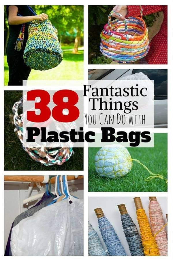 Save the environment and reuse those piles of plastic bags at home. You will be amazed how those plastic bags can ever be useful.