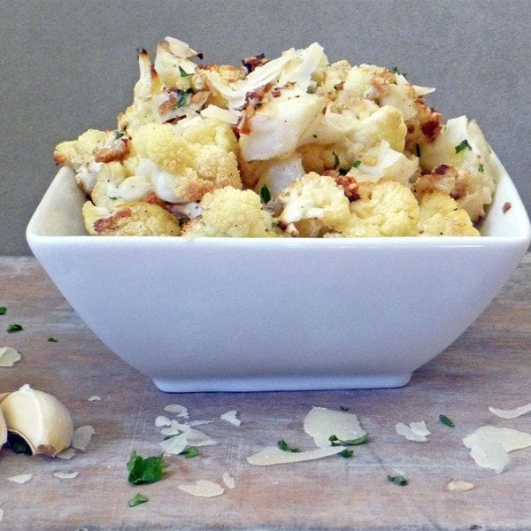 How to Eat Healthy For Less Than $400 a Month - Cauliflower recipe