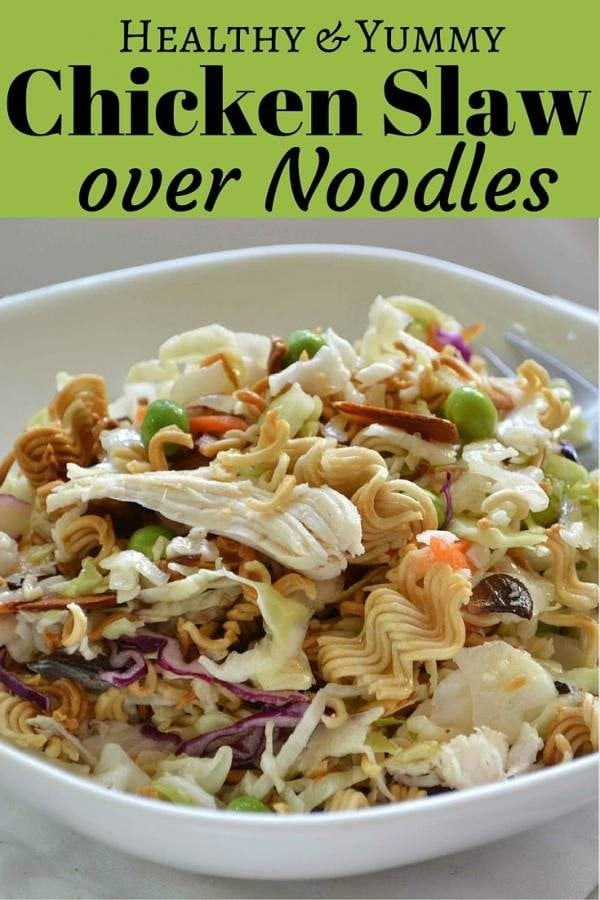Add a tasty twist to this Asian-inspired dish - Chicken Slaw. It's perfect for the hot season and quite simple to make. A deliciously awesome meal for the family and your guests.