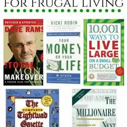 The Best 5 Books for Frugal Living