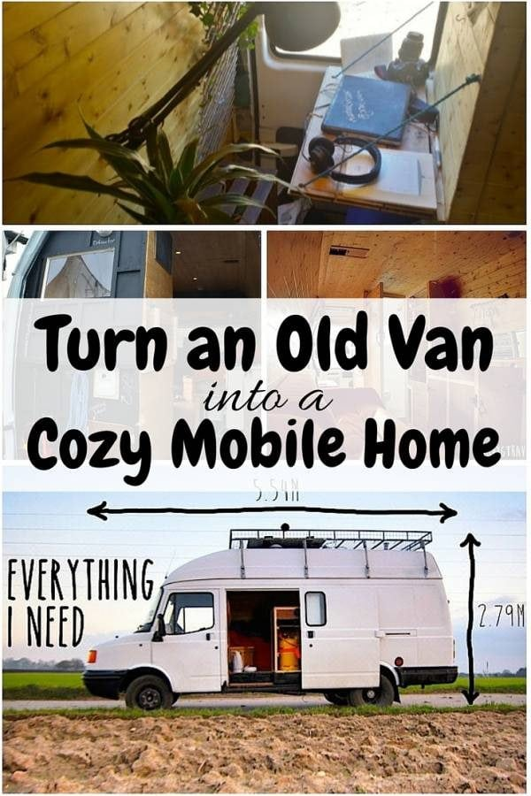 Transform that old van into a cozy mobile home that fits your camping needs. Road trips will never be the same again with this DIY.