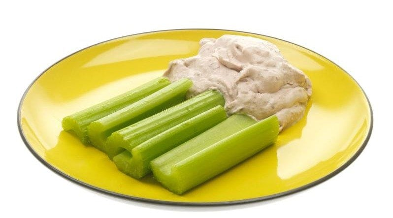 How to Eat Healthy For Less Than $400 a Month - Celery and Hummus