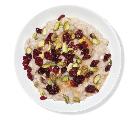 How to Eat Healthy For Less Than $400 a Month - oatmeal and dried fruits