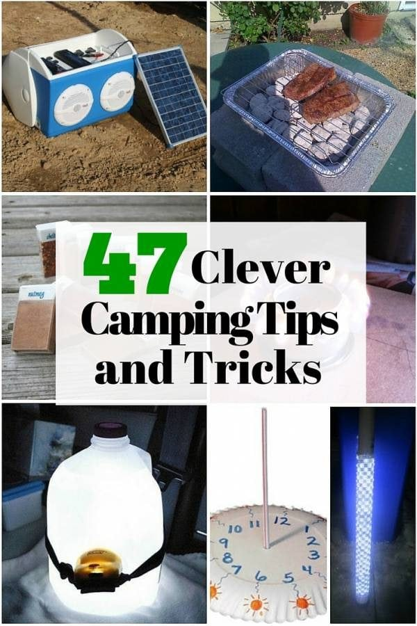 Enjoy the outdoors with these clever camping tips and tricks. You don't only get to enjoy but you can also save a lot of money.