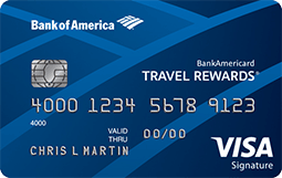 ultimate credit card guide - BankAmericard Travel Rewards