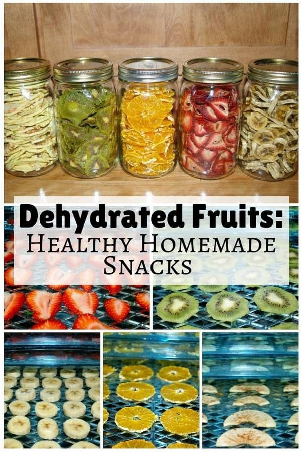 Dehydrated fruits are great, healthy homemade snacks for the entire family. They are not only nutritious but also help you save a lot of money.