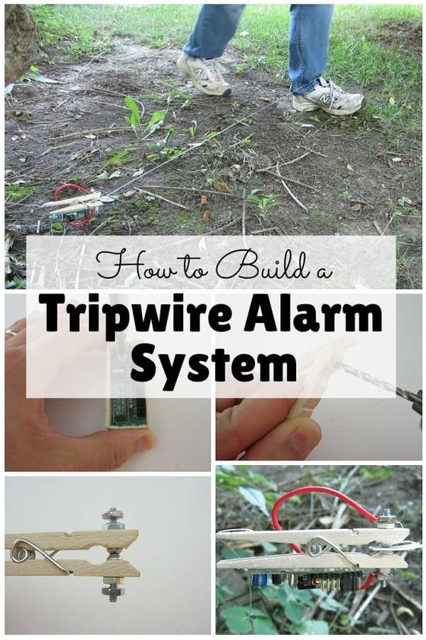 how to build a tripwire alarm system the budget diet. Black Bedroom Furniture Sets. Home Design Ideas