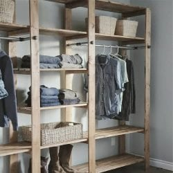 How to Build an Open Style Closet