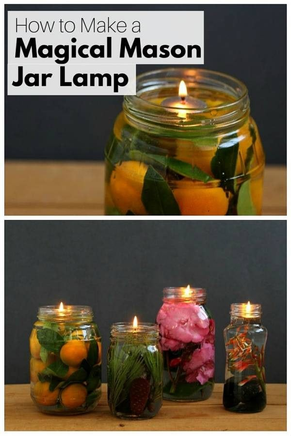 A magical mason jar lamp is great for gatherings and parties. They are simply amazing, inexpensive and easy to make.