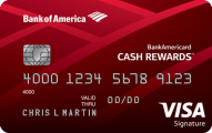 ultimate credit card guide - bankamericard cash rewards credit card