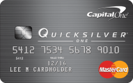 ultimate credit card guide - CapitalOne QuickSilver