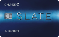 ultimate credit card guide - chase slate