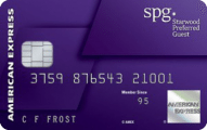 ultimate credit card guide - starwood preferred guest consumer