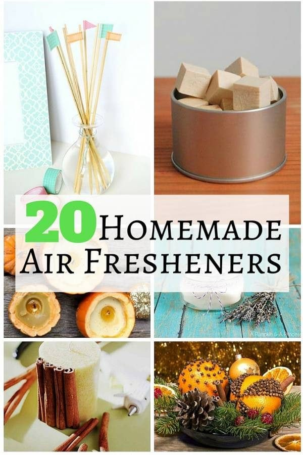 Air fresheners set the mood in the room letting you relax easily. These homemade air fresheners are eco-friendly, quick to make and amazingly good.