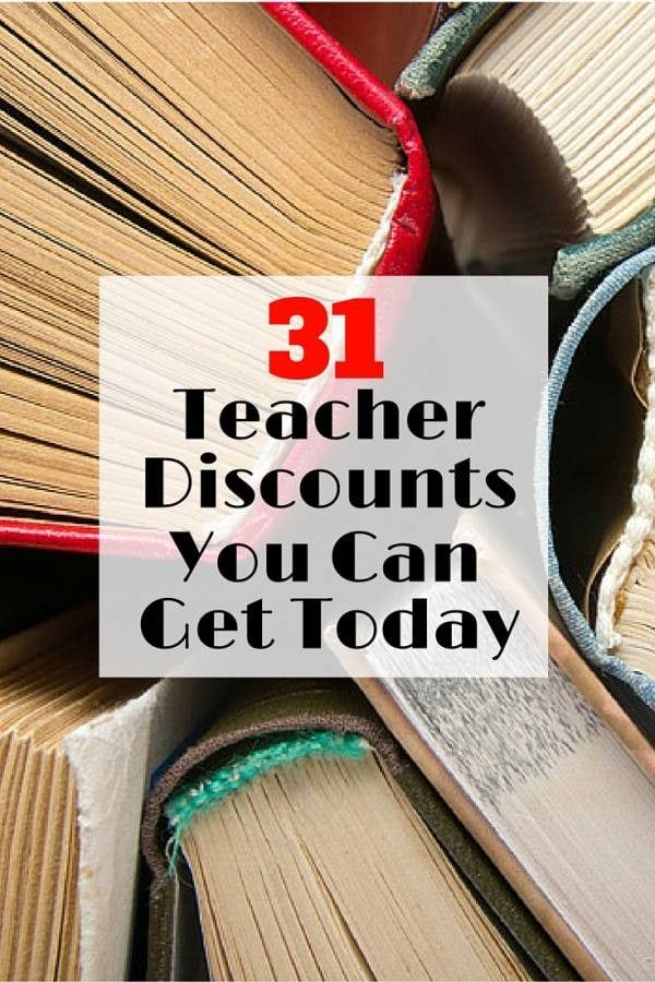 Check out these discounts you can avail as a hardworking and passionate teacher. After all, this is for the students.