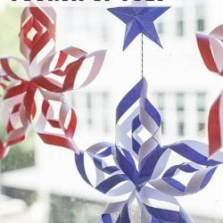 DIY Paper Stars for the Fourth of July