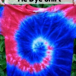 How to Make a Fourth of July Tie Dye Shirt