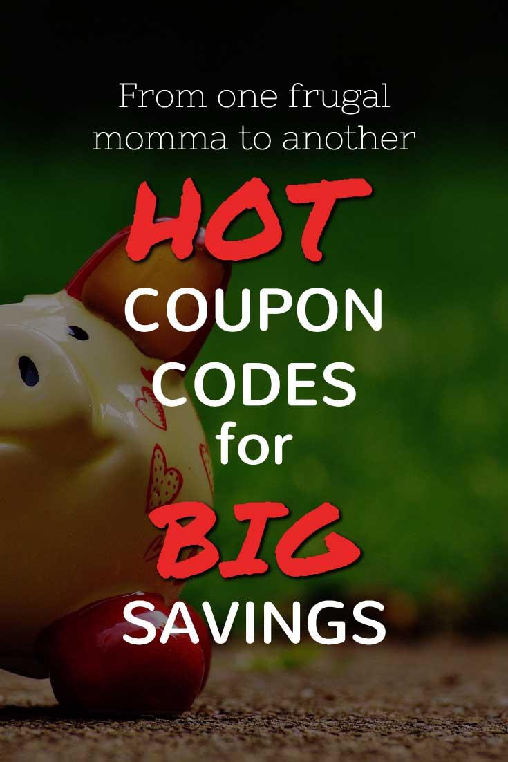 Hot Coupon Codes For Big Savings