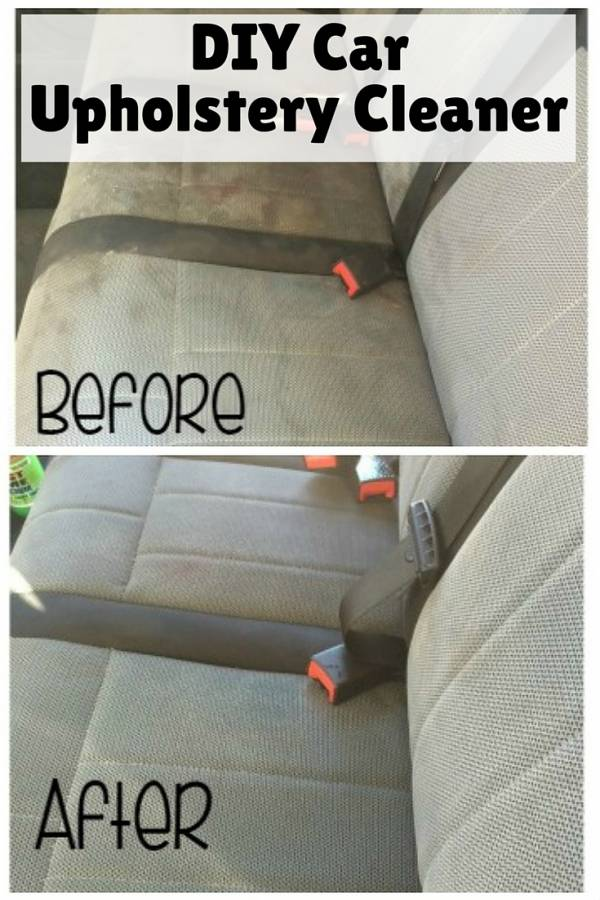 Diy Car Upholstery Cleaner The Budget Diet