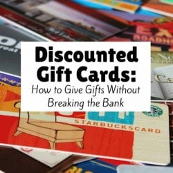How Discounted Gift Cards Can Help Save Your Budget