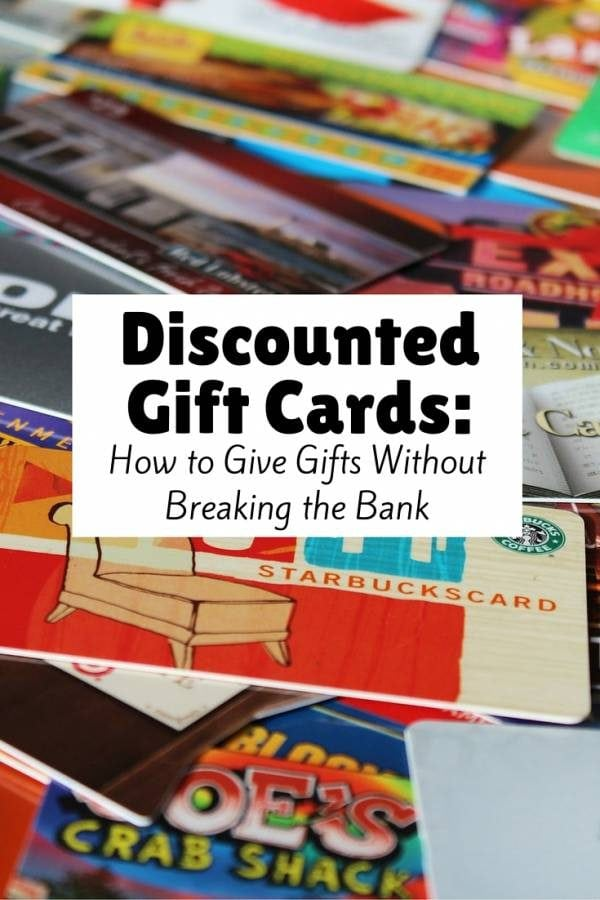 Many websites offer gift cards at discounted prices for any occasion. It will not only saves time, but also saves money in just a click.