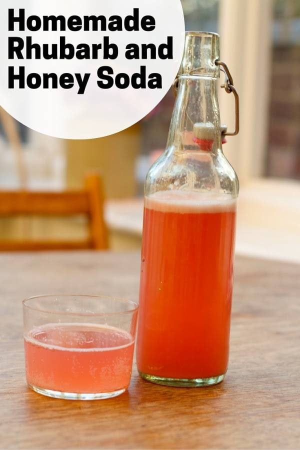 Probiotic soda you can make at home. A healthy, delicious and refreshing drink family will love!