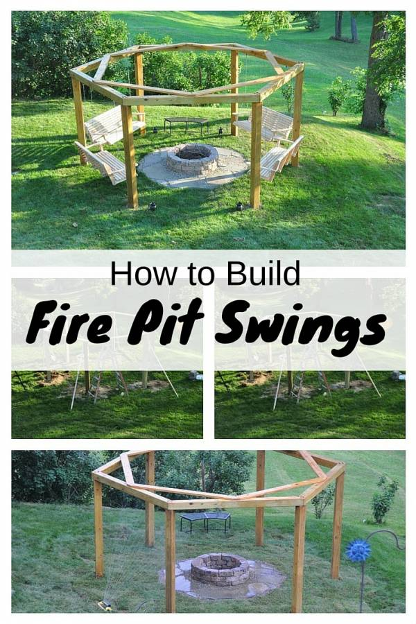 How To Build Fire Pit Swings The Budget Diet
