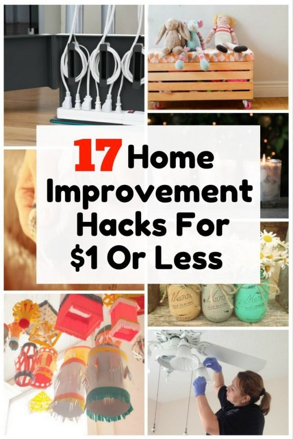 Make home upgrades easy and inexpensive with these hacks worth $1 or less. They will not only let you save money but also beautifies your home effortlessly.