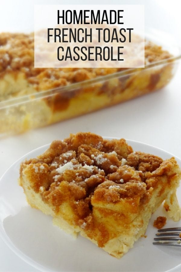 Start the morning right with the smell of freshly baked french toast casserole. Easy-to-prepare, healthy and tasty.