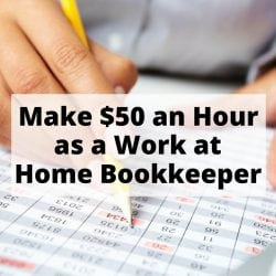 How to Earn $50 an Hour as a Homebased Bookkeeper
