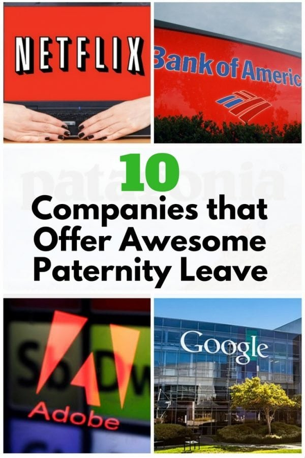 Encourage your husband to work for these generous companies and have an awesome paternity leave he deserves. He has the right to spend more time with his child.
