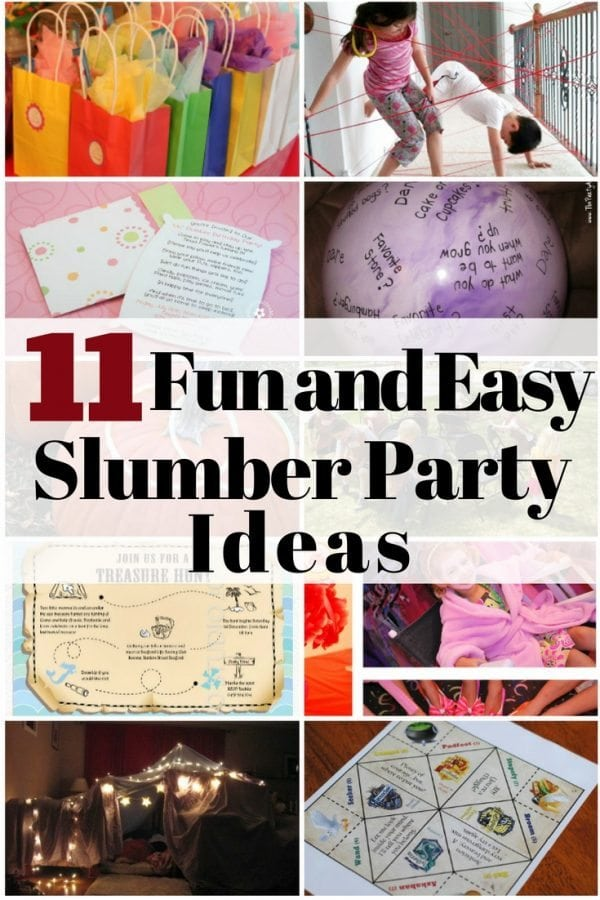 Invite your gals or your daughter's to a fun slumber party that you won't forget. These creative ideas will surely let you save money and effort.