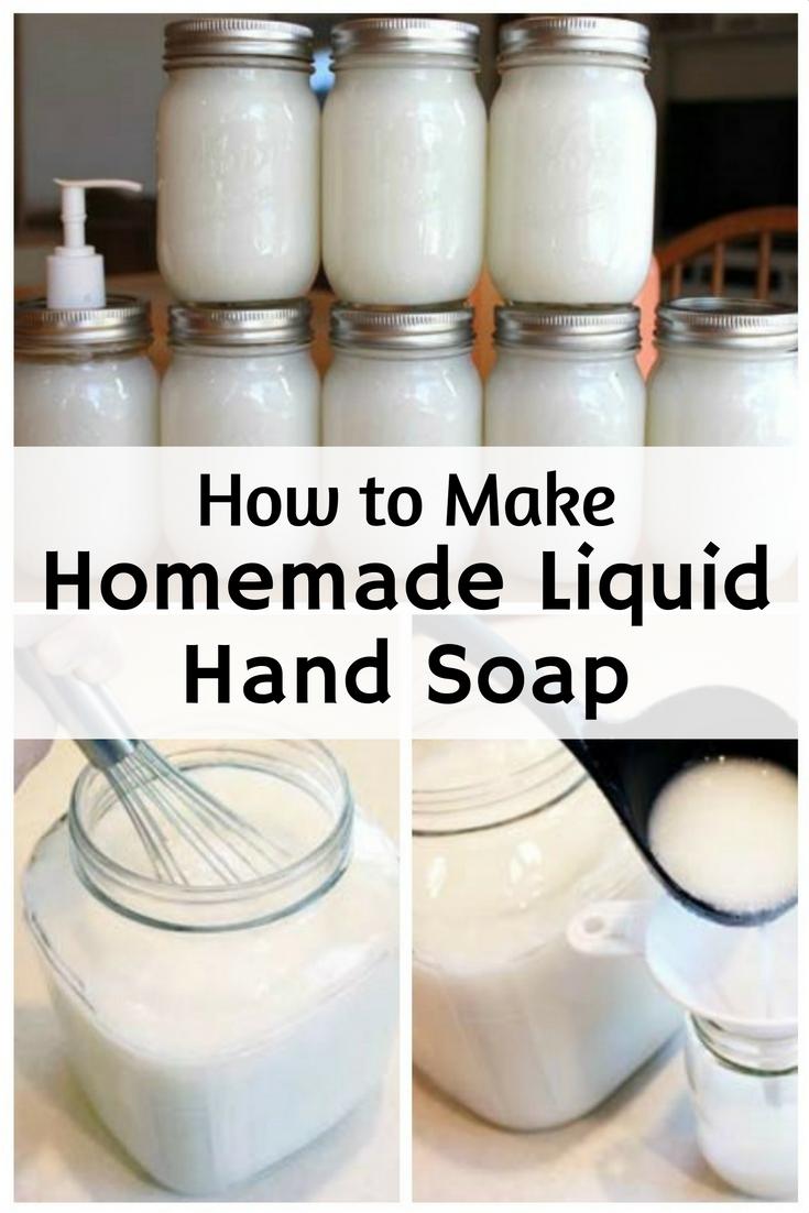 Cheap Health Insurance >> How to Make Homemade Liquid Hand Soap - The Budget Diet